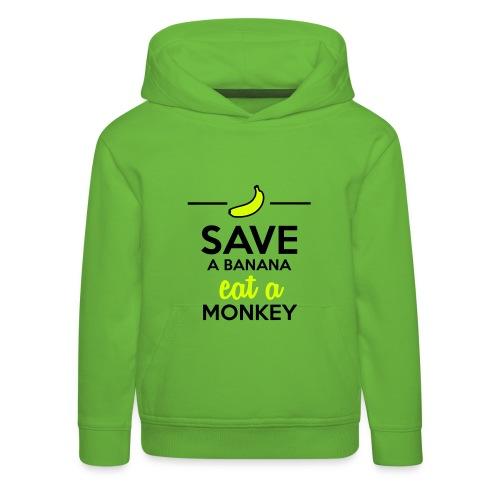 Save The Banana 's Hoodie(Kids) - Kids' Premium Hoodie