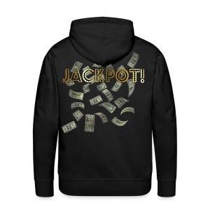 Jackpot! Huppari musta - Miesten premium-huppari