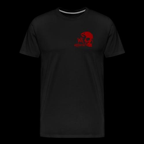 WK Antisocial Männer T-Shirt (rot) - Männer Premium T-Shirt