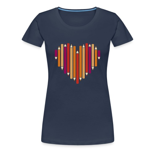 (He)Art Women T-shirt - Women's Premium T-Shirt