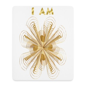I AM shaumbra mouse pad - Tappetino per mouse (verticale)