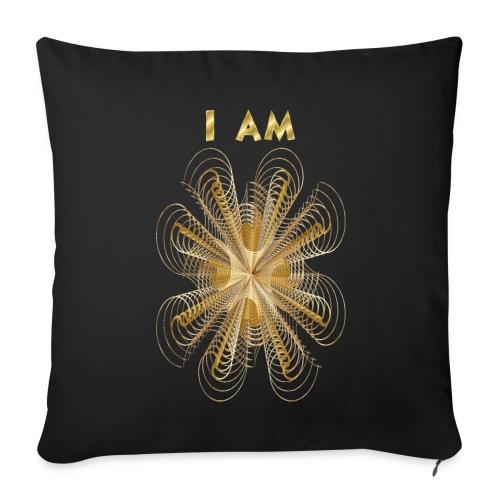 I AM shaumbra pillow - Copricuscino per divano, 44 x 44 cm