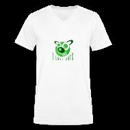 T-Shirts ~ Men's V-Neck T-Shirt ~ Men's V-Neck T-Shirt - I Love Cats