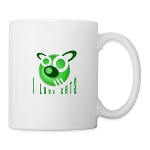 I Love Cats - Fun Mug - Mug
