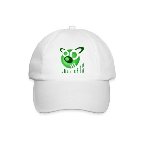 I love cats - Fun Cap - Baseball Cap