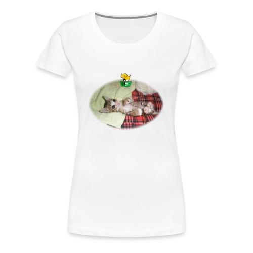 Women's Premium T-Shirt With Lucy - Women's Premium T-Shirt