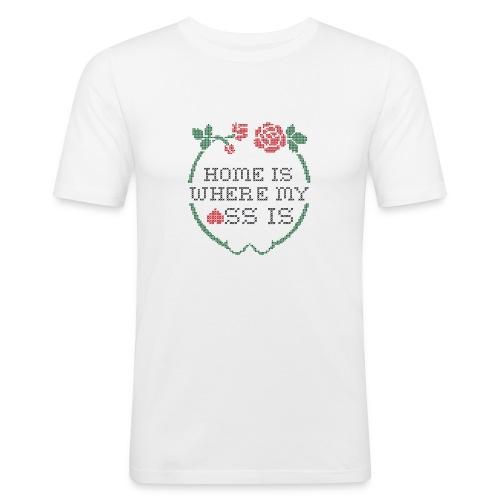 HOME ASS Slim - T-shirt près du corps Homme
