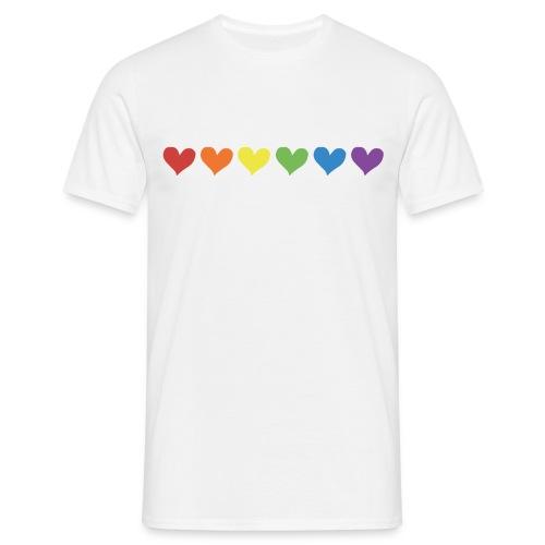 Pride Love - Men's Tee - Men's T-Shirt