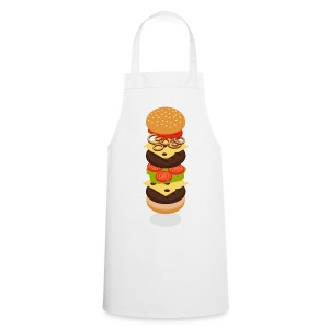 Isometric Burger Tower Schürzen Apron - Cooking Apron