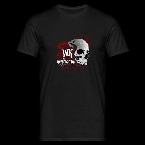 WK Antisocial Männer T-Shirt (blut) - Männer T-Shirt