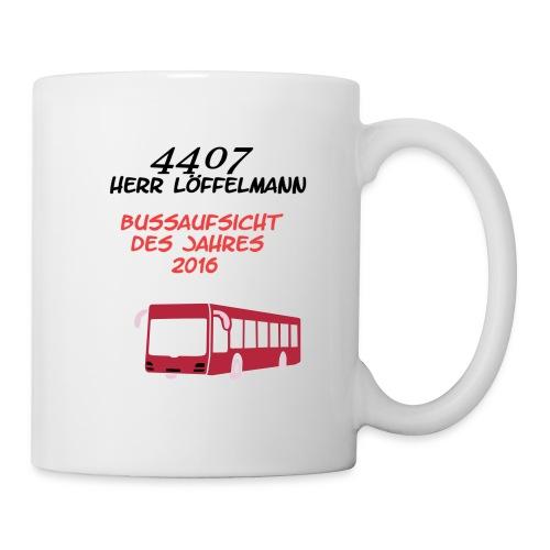 Busaufsicht des Jahres 2016 - Tim Löffelmann - Tasse