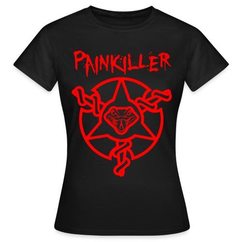 Ladies Painkiller Title T-Shirt Black - Women's T-Shirt