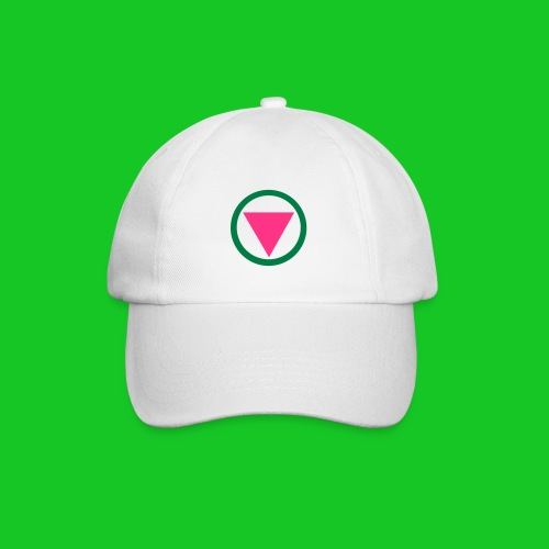 Roze driehoek cap - Baseballcap