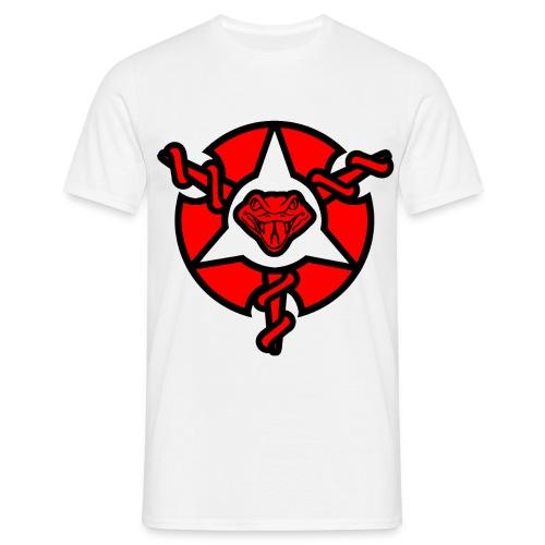 Mens Painkiller Logo T-Shirt White - Men's T-Shirt