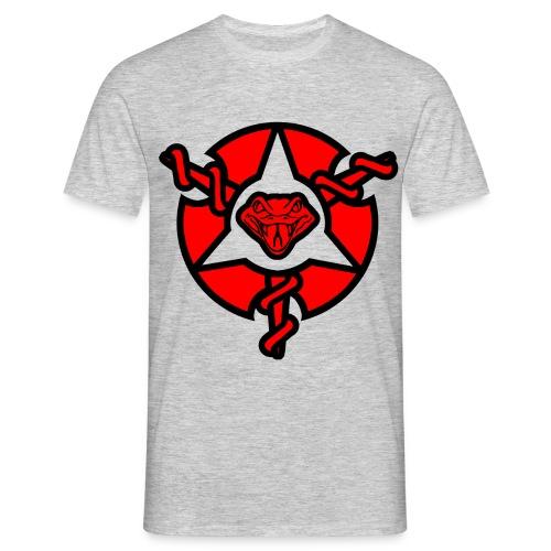Mens Painkiller Logo T-Shirt Grey - Men's T-Shirt