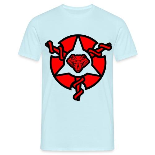 Mens Painkiller Logo T-Shirt Sky Blue - Men's T-Shirt