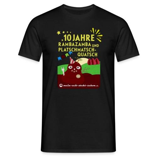 Shirt 10 Jahre mzss - Männer T-Shirt