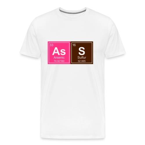 Geeky Ass Periodic Elements - Men's Premium T-Shirt