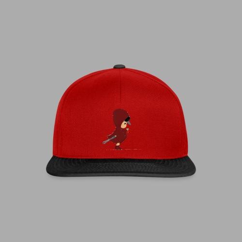 MyHeroJay - Snapback (Rot/Schwarz) - Snapback Cap