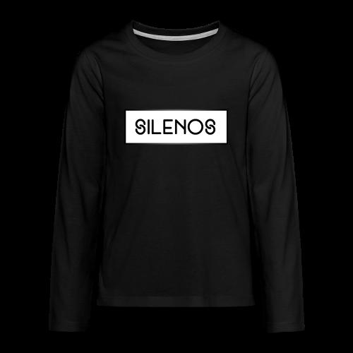 B&W Sweatshirt Silenos v2 - Teenager Premium Langarmshirt
