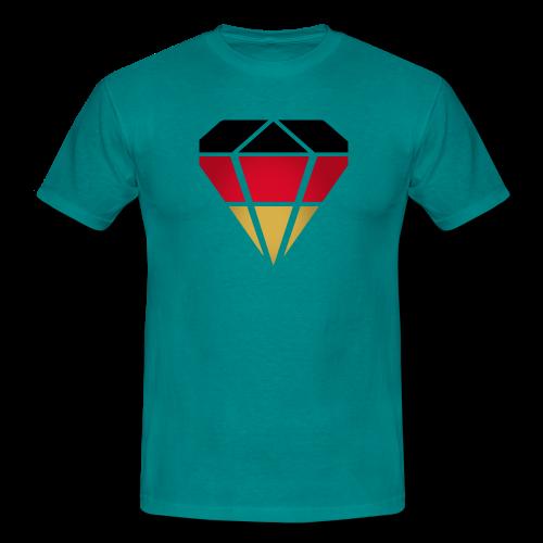 Diamond Germany (Vivid Green) - Männer T-Shirt