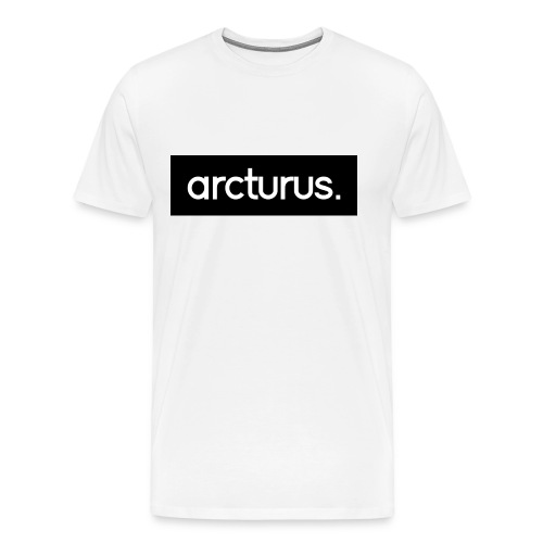 Arcturus. Black Logo T-Shirt - Men's Premium T-Shirt