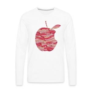 C'est ne pas an Apple: C'est BACON! Long sleeve - Men - Men's Premium Longsleeve Shirt