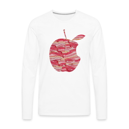 C'est ne pas an Apple: C'est BACON! Long sleeve - Men - Men's Premium Longsleeve Shirt