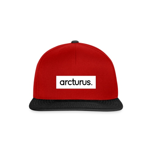Arcturus. Snapback Cap White Logo - Snapback Cap