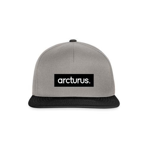 Arcturus. Snapback Cap Black Logo - Snapback Cap