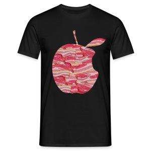 C'est ne pas an Apple: C'est BACON! T-Shirts - Men - Men's T-Shirt