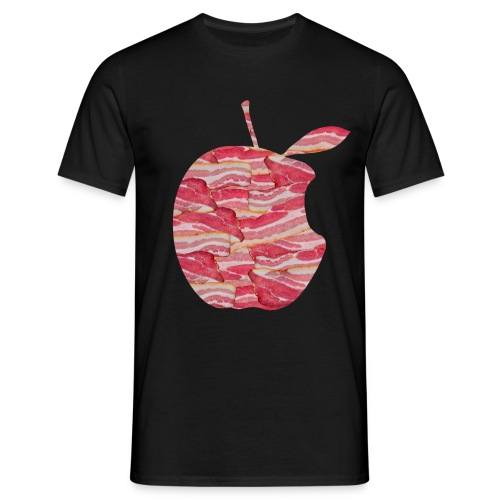 C'est ne pas an Apple: C'est BACON! T-Shirts - Men - Men's T-Shirt