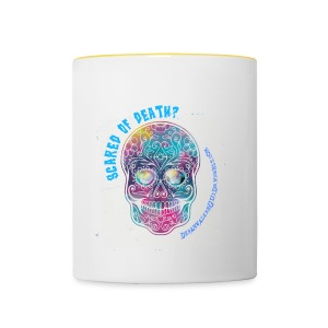scared of death? two-colors mug - Tazze bicolor