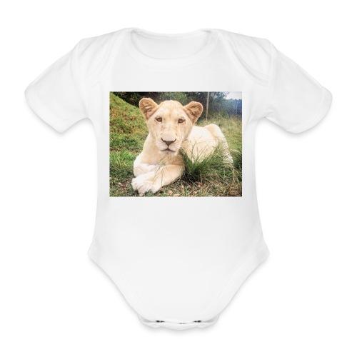 Baby Bodysuit : white - Organic Short-sleeved Baby Bodysuit