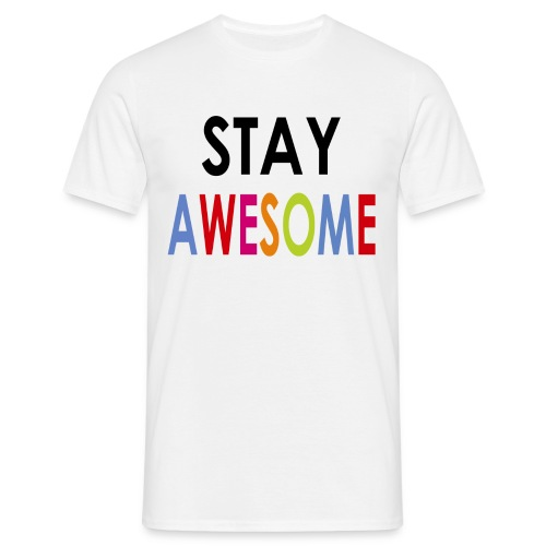 Stay AWESOME jongens Tshirt - Mannen T-shirt