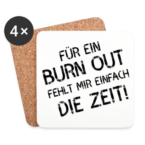 Untersetzer Burn out - Untersetzer (4er-Set)