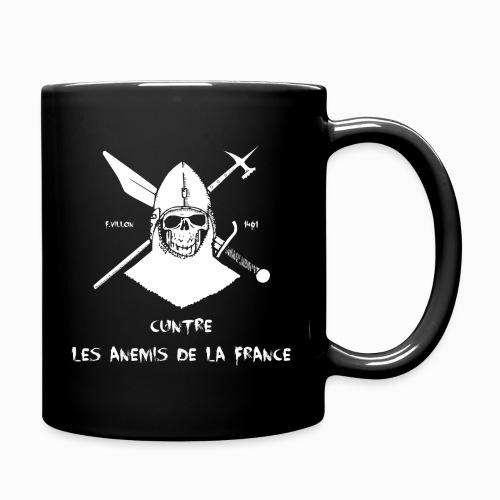 Mug F.Villon Cuntre les Anemis de la France - Mug uni