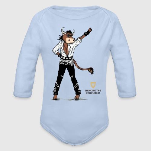 Baby Body – Dancing Ox - Baby Bio-Langarm-Body