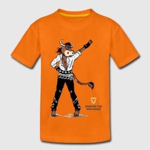 Kinder Shirt – Dancing Ox - Kinder Premium T-Shirt