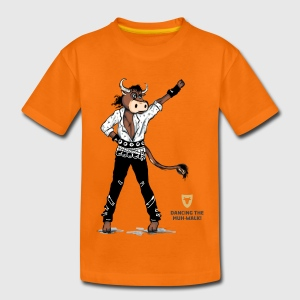 Kinder Shirt – Dancing Ox - Kinder Premium T-Shirt
