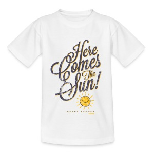 SmileyWorld 'Here comes the sun' teenager t-shirt - Maglietta per ragazzi