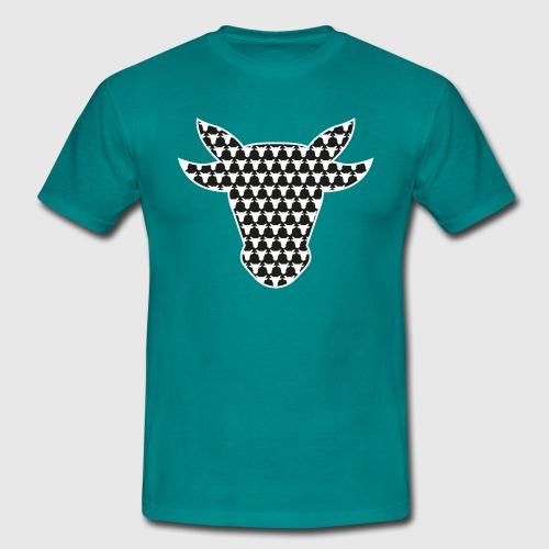 T-Shirt Männer –OXen Pepita - Männer T-Shirt