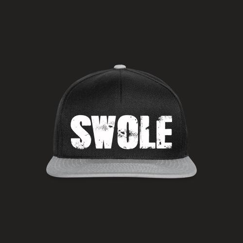 SWOLE FLAT CAP - Snapback Cap