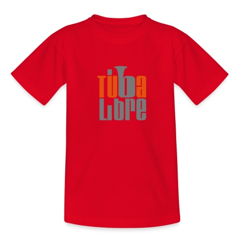Rubinrotes FanBekenntnis für den Nachwuchs - Teenager T-Shirt