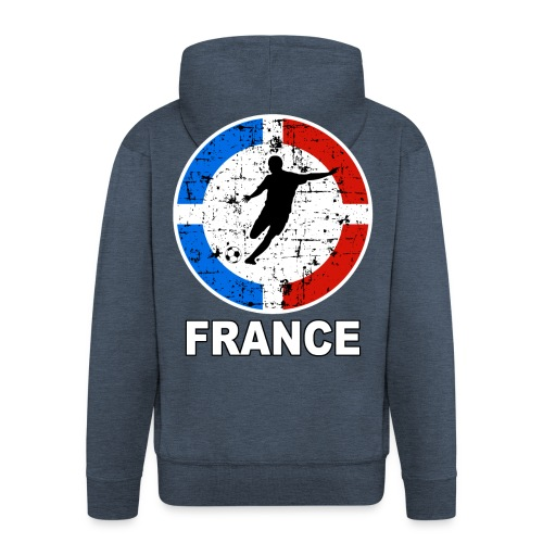 Football France - Men's Premium Hooded Jacket