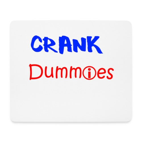 Crank Dummies Mousepad - Mousepad (Querformat)