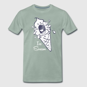 SmileyWorld 'Ice Scream' men t-shirt - Koszulka męska Premium