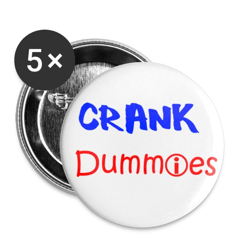 CRank Dummies Pins - Buttons klein 25 mm
