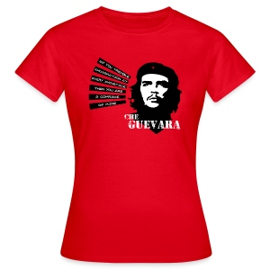 Che Guevara If you tremble with Indignation Frauen T-Shirt - Frauen T-Shirt