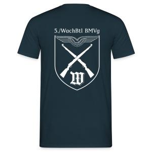 T-Shirt - 5./WachBTL BMVg - Männer T-Shirt